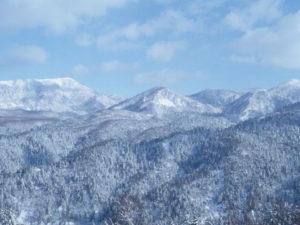 雪の積もっている風景