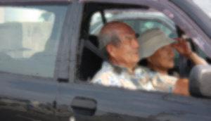 事故が多い高齢ドライバー