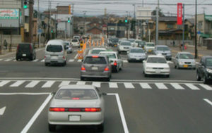 車の事故が多い交差点
