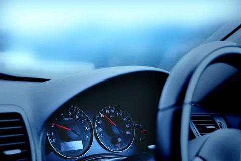 車の速度計