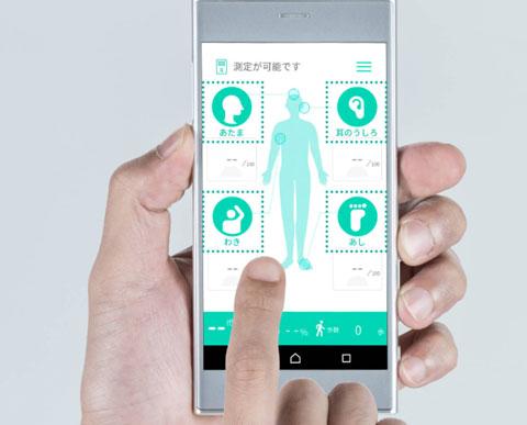 クンクンボディー(Kunkun body)のアプリをスマホで起動したところ