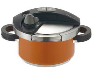 ワンダーシェフ圧力鍋オース3.0Lオレンジ