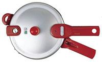 ワンダーシェフ圧力鍋こなべちゃんのふたの開閉