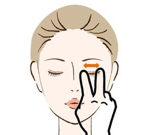 目元表情筋の鍛え方