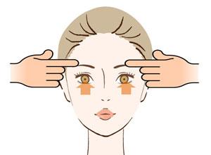目元の表情筋の鍛え方