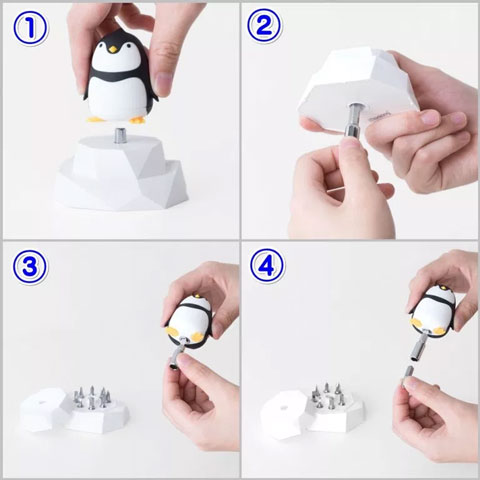 Penguin (ペンギン)アニマルドライバーの使い方