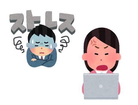 ストレスやパソコンで眼精疲労を起こしている人