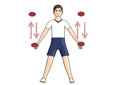 ダブルボールリフトのトレーニング方法