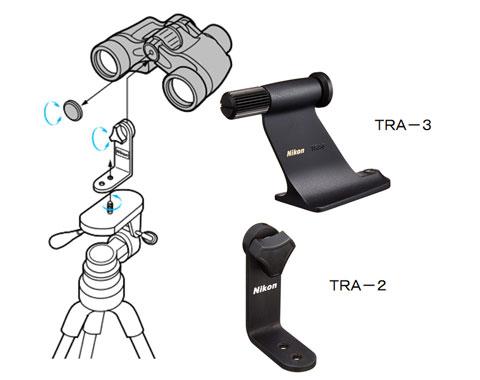 Nikonの三脚アダプターの取り付け方法