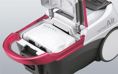 紙パック式掃除機
