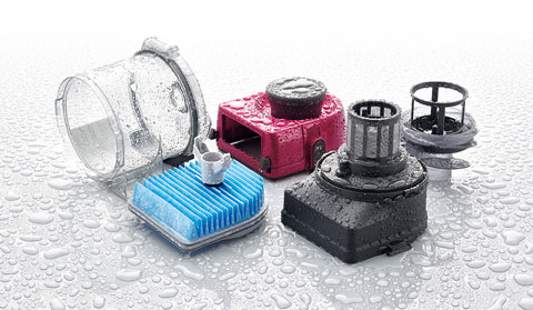 EC-AS710の集塵器を水洗いしたところ