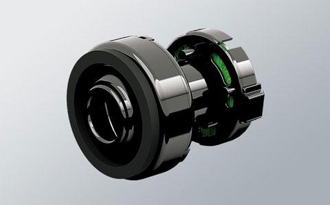 高効率の大風量ターボモーター