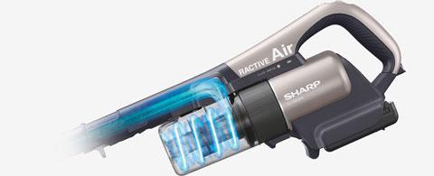 EC-AR2SXの強力パワーが持続する遠心分離サイクロン